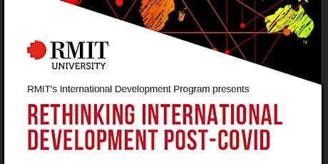 Rethinking International Development Post-Covid tickets