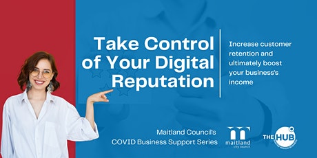 Take Control of Your Digital Reputation tickets