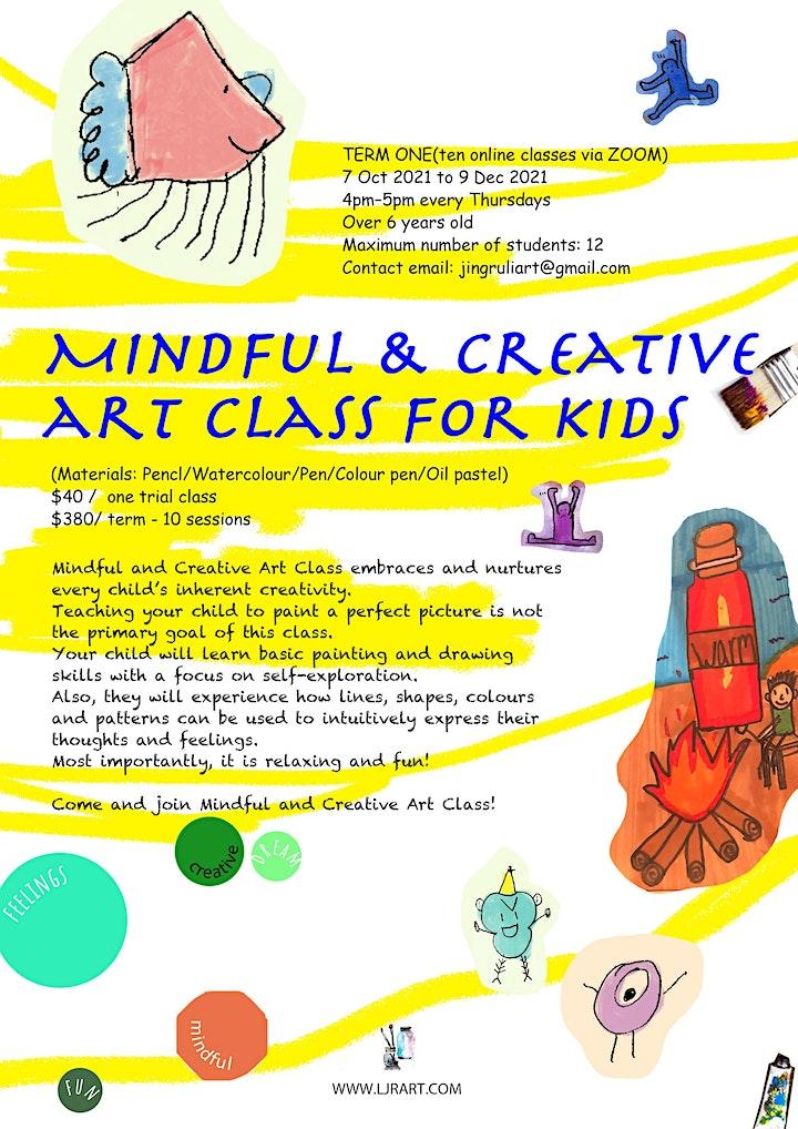 Creative art class for children image