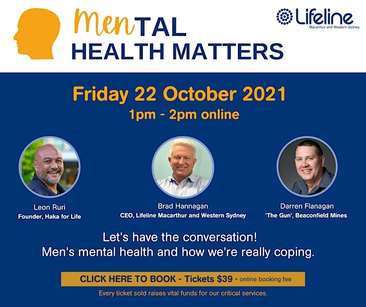 MENtal Health Matters image