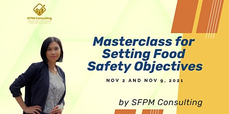 Masterclass for Setting Food Safety Objectives billets