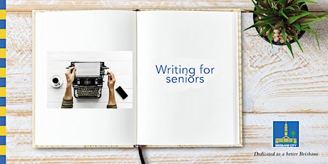 Seniors Month: Writing for seniors - Kenmore Library tickets