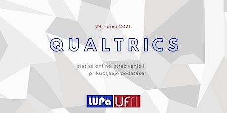 Qualtrics alat za online istraživanje i prikupljanje podataka tickets