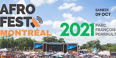 Festival Afrofest Montréal billets