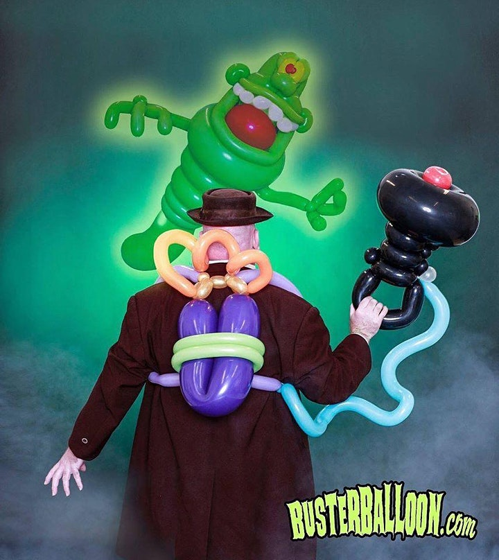 Buster Balloon's Halloween Party! image