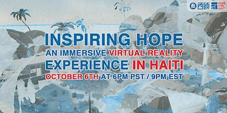 Inspiring Hope: an Immersive Virtual Experience in Haiti tickets
