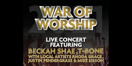 """War of Worship 21""""Silencing the enemy"""" Live Christian Music Festival tickets"""