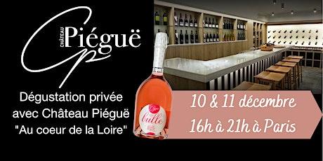 Dégustation privée de la nouvelle gamme de vins Château Piéguë billets