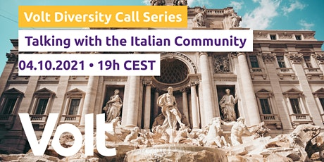 Diversity Call Series: Talking with the Italian Community tickets