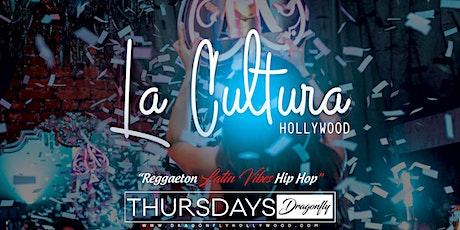 La Cultura Thursdays | Reggaeton Latin Vibes tickets