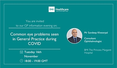 Common eye problems seen in general practice during COVID tickets