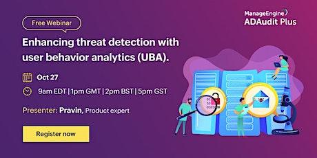 Enhancing threat detection with user behavior analytics (UBA) entradas
