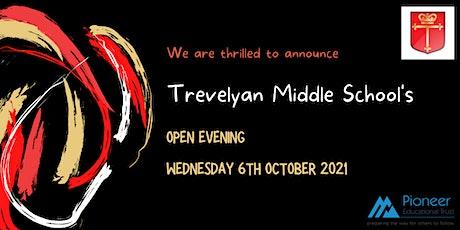 Trevelyan Middle School Open Evening tickets