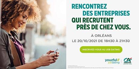 Job Dating à Orléans : décrochez un emploi ! billets