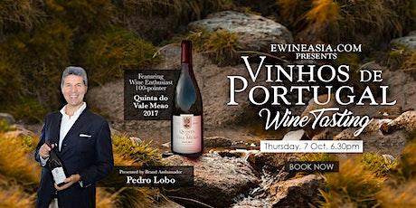 Vinhos de Portugal - Wine tasting / Masterclass entradas