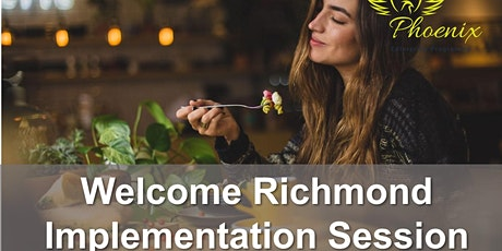 Business Model Implementation session for Welcome Richmond tickets