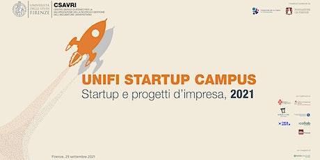 Unifi Startup Campus: startup e progetti d'impresa 2021 biglietti