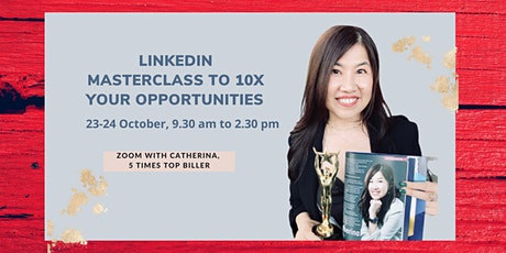 2 day LinkedIn Mastery Workshop to build a personal brand to generate leads tickets
