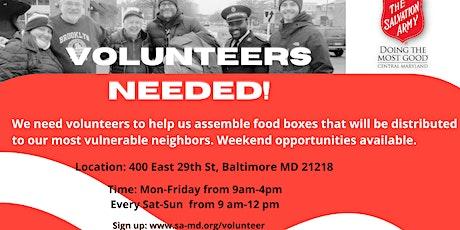 Need Volunteer Help for Senior Food Drive tickets