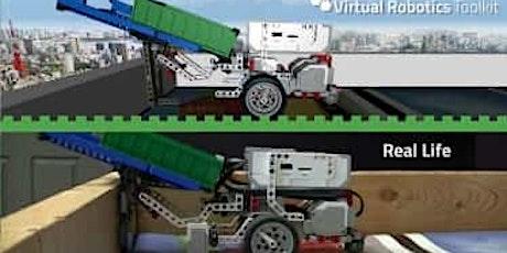 WORKSHOP ROBOTICA: guida il tuo robot Lego EV3 virtuale nel labirinto biglietti