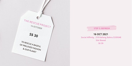 The Rescue Project: Refresh Party tickets