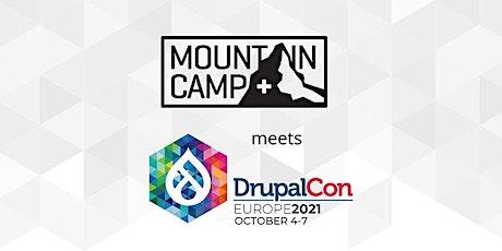 Drupal Mountain Camp rencontre DrupalCon Europe 2021 à Genève billets