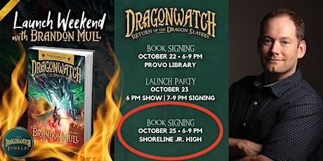 BOOK SIGNING EVENT w/ BRANDON MULL @ SHORELINE JR. HIGH tickets