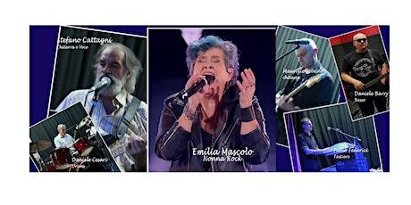 EMILIA NONNA ROCK e SOSTA LIBERA BAND  concerto per la Festa dei Nonni biglietti