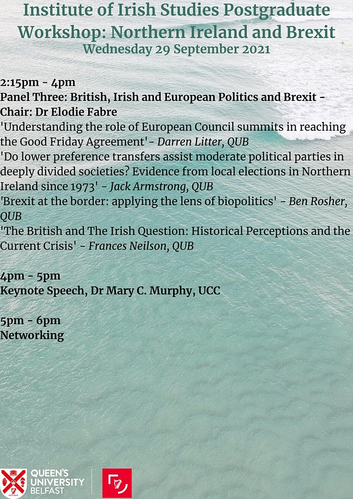 IIS Postgrad Seminar: Northern Ireland and Brexit image