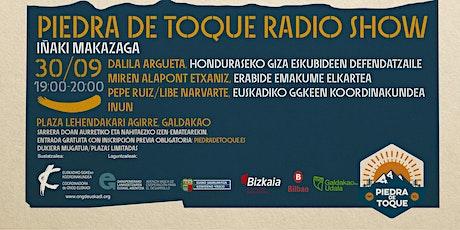 """""""Piedra de Toque"""" Radio Show entradas"""