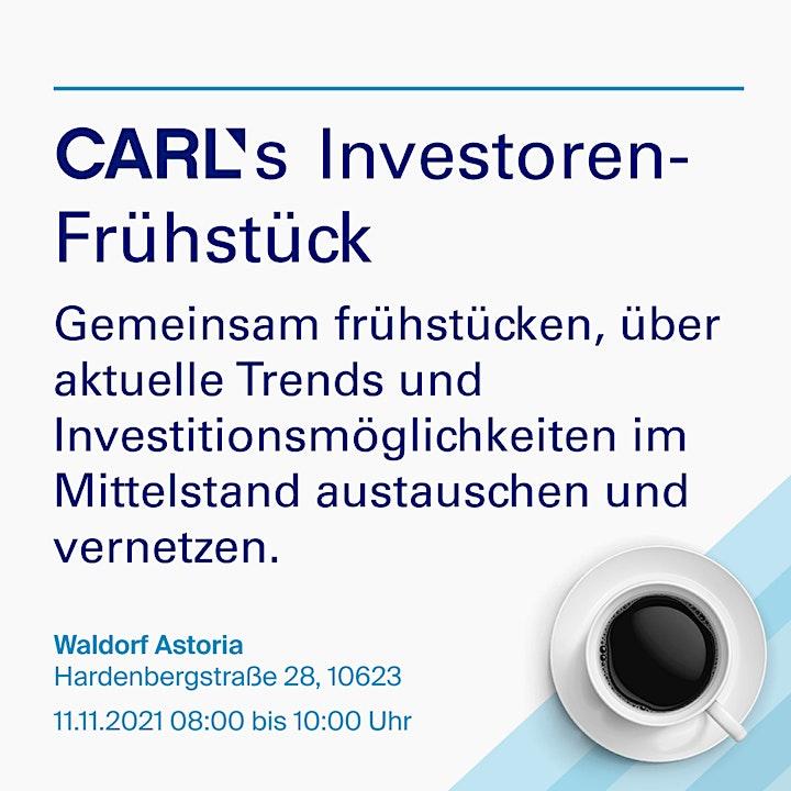 CARL Investoren-Frühstück: Bild