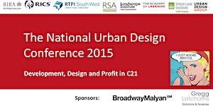 National Urban Conference 2015: Development, Design...