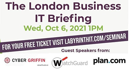 The London Business IT Briefing tickets