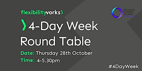 4-Day Week Round Table Discussion with Flexibility Works & WEALL Scotland tickets