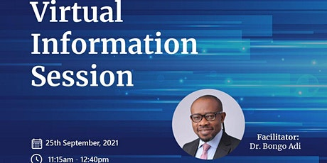 MBA Information Session tickets