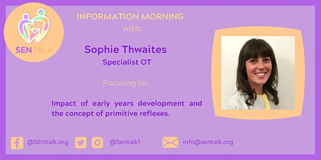 OT Information Morning: The Impact of Early Years Development tickets
