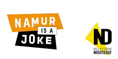Namur is a Joke 2021 - PE RACONTE DES HISTOIRES DRÔLES billets