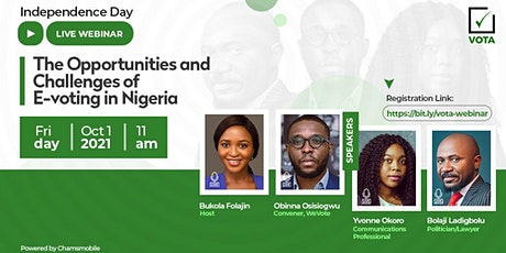 Opportunities and Challenges of E-voting in Nigeria tickets