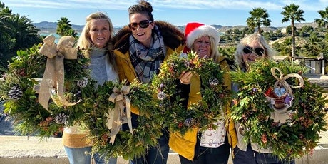 CHRISTMAS EVERGREEN WREATH WORKSHOPS ON  ECO- FRIENDLY WOVEN WILLOW BASES tickets