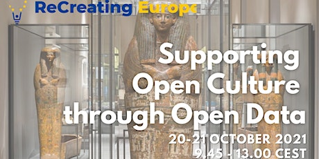 ReCreating Europe Workshop: Supporting Open Culture through Open Data_1 tickets