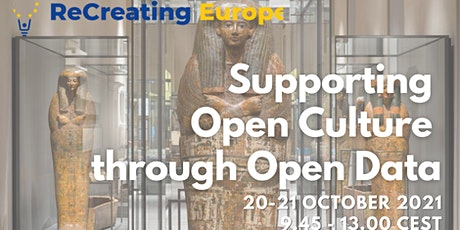 ReCreating Europe Workshop: Supporting Open Culture through Open Data_2 tickets