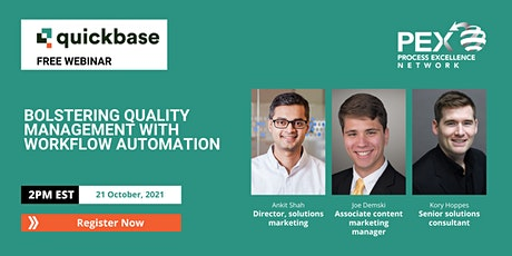 [FREE WEBINAR] Bolstering quality management with workflow automation tickets