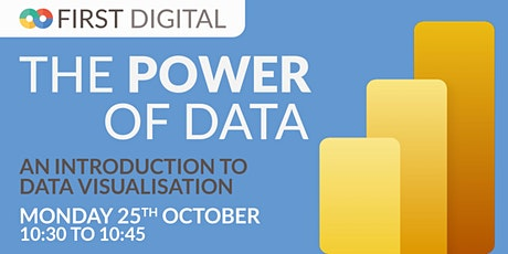 Introduction to Data Visualisation  - First Digital's Power of Data Week tickets