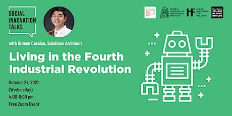 Social Innovation Talks: Living in the Fourth Industrial Revolution tickets
