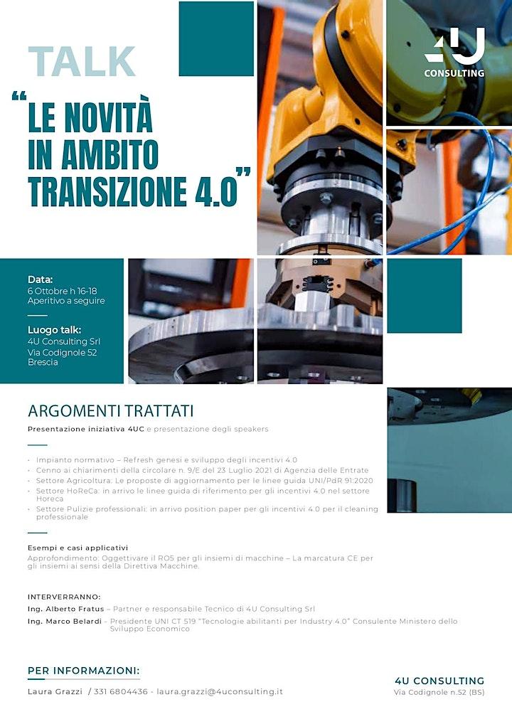 Immagine LE NOVITA' IN AMBITO INDUSTRIA 4.0
