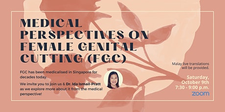 Medical Perspectives on Female Genital Cutting (FGC) tickets