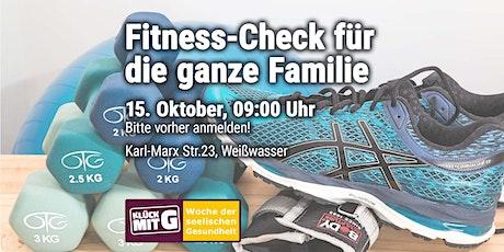 Fitness-Check für die ganze Familie Tickets