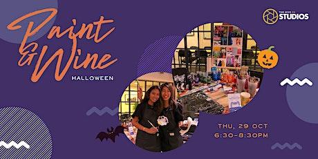 Paint & Wine: Halloween tickets