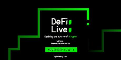 DeFi Live 2021 tickets