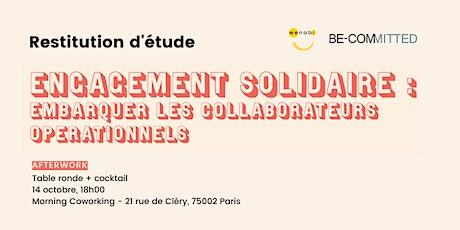Engagement solidaire : embarquer les collaborateurs opérationnels billets